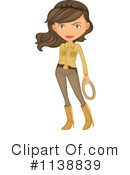 Cowgirl Clipart #1138839 by Graphics RF