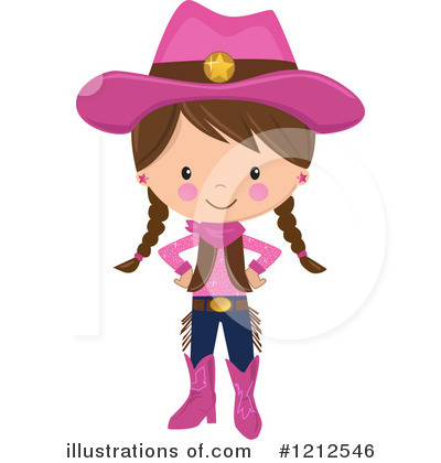 Cowgirl Clipart #1212546 by peachidesigns