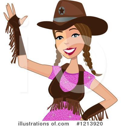Cowgirl Clipart #1213920 by peachidesigns