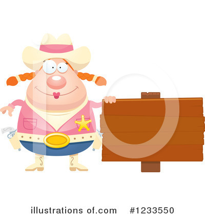 Cowgirl Clipart #1233550 by Cory Thoman