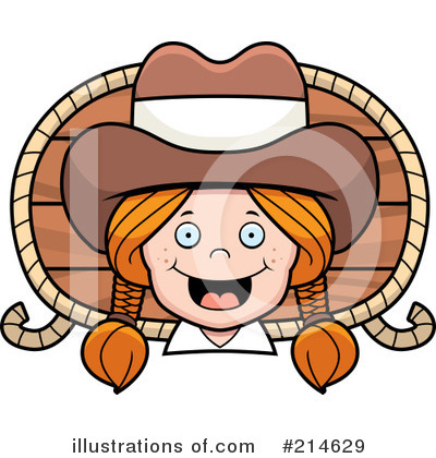 Cowgirl Clipart #214629 by Cory Thoman