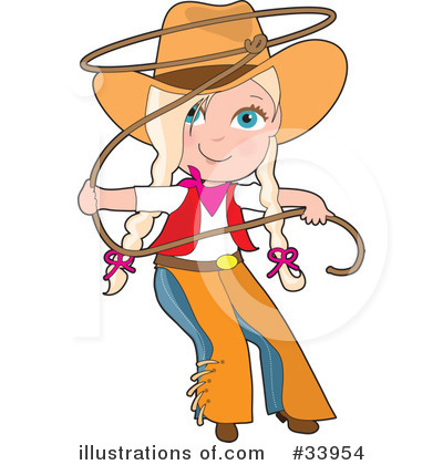 cowgirl clipart 33954 illustration by maria bell rh illustrationsof com Free Western Backgrounds Clip Art Free Western Backgrounds Clip Art