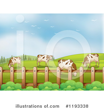 Cow Clipart #1193338 by Graphics RF