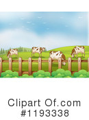 Royalty-Free (RF) Cows Clipart Illustration #1193338