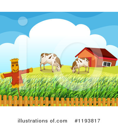 Scarecrow Clipart #1193817 by Graphics RF