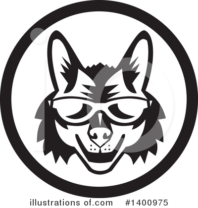 Coyote Clipart #1400975 by patrimonio