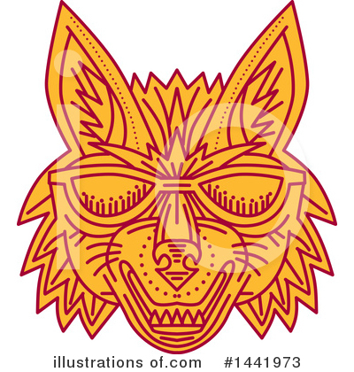 Coyote Clipart #1441973 by patrimonio