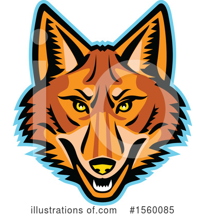 Wolf Clipart #1560085 by patrimonio