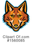 Coyote Clipart #1560085 by patrimonio