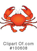 Crab Clipart #100608 by Pams Clipart