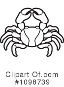 Crab Clipart #1098739 by Lal Perera