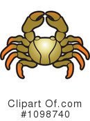 Crab Clipart #1098740 by Lal Perera