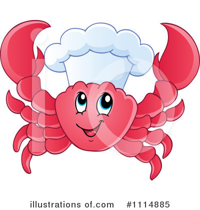 Crab Clipart #1114885 by visekart