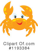 Crab Clipart #1193384 by Alex Bannykh