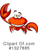Crab Clipart #1327885 by Vector Tradition SM