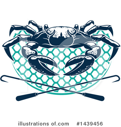 Crab Clipart #1439456 by Vector Tradition SM