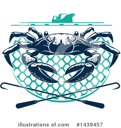 Crab Clipart #1439457 by Vector Tradition SM
