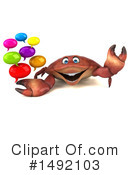 Crab Clipart #1492103 by Julos