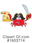 Crab Clipart #1603714 by Hit Toon