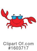 Crab Clipart #1603717 by Hit Toon