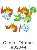 Royalty-Free (RF) Crabs Clipart Illustration #32344