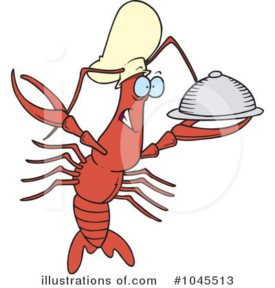 Crawdad Clipart #1045513 by toonaday