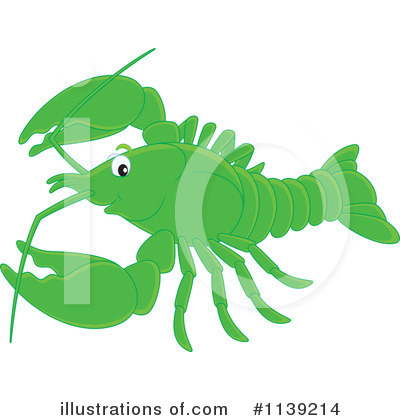 Crawdad Clipart #1139214 by Alex Bannykh