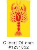 Royalty-Free (RF) Crawdad Clipart Illustration #1291352