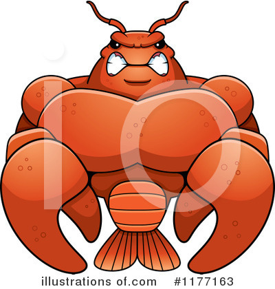 Crawfish Clipart #1177163 by Cory Thoman