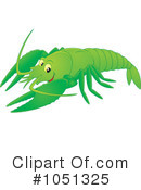 Royalty-Free (RF) Crayfish Clipart Illustration #1051325