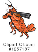 Royalty-Free (RF) Crayfish Clipart Illustration #1257187