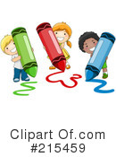 Crayons Clipart #215459 by BNP Design Studio