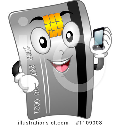 Credit Card Clipart #1109003 by BNP Design Studio