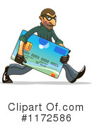 Royalty-Free (RF) Credit Card Clipart Illustration #1172586