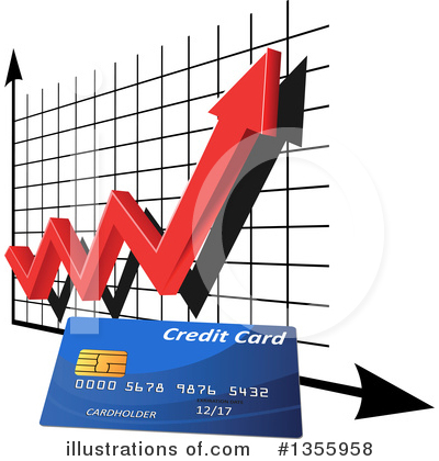Credit Card Clipart #1355958 by Vector Tradition SM