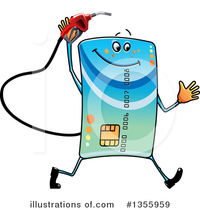 Credit Card Clipart #1355959 by Vector Tradition SM