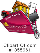 Credit Card Clipart #1355961 by Vector Tradition SM