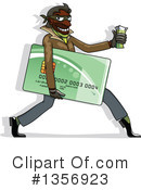 Royalty-Free (RF) Credit Card Clipart Illustration #1356923