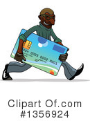 Royalty-Free (RF) Credit Card Clipart Illustration #1356924