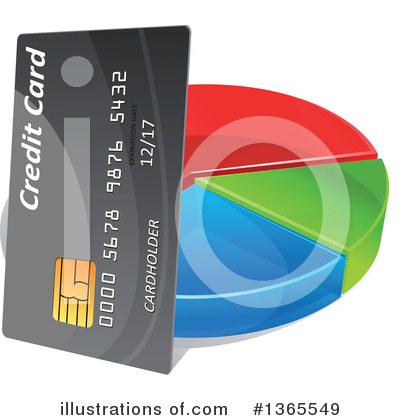 Credit Card Clipart #1365549 by Vector Tradition SM