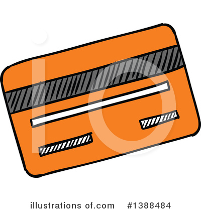Credit Card Clipart #1388484 by Vector Tradition SM