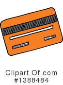 Royalty-Free (RF) Credit Card Clipart Illustration #1388484