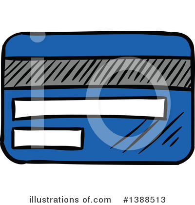 Credit Card Clipart #1388513 by Vector Tradition SM