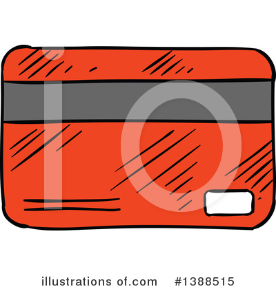 Credit Card Clipart #1388515 by Vector Tradition SM
