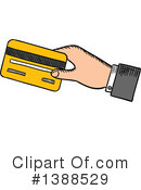 Royalty-Free (RF) Credit Card Clipart Illustration #1388529