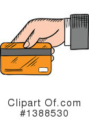 Royalty-Free (RF) Credit Card Clipart Illustration #1388530