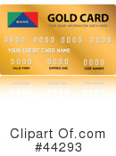 Credit Card Clipart #44293