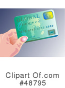 Credit Card Clipart #48795