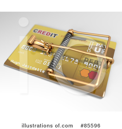 Credit Card Clipart #85596 by Leo Blanchette