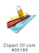Credit Cards Clipart #30189